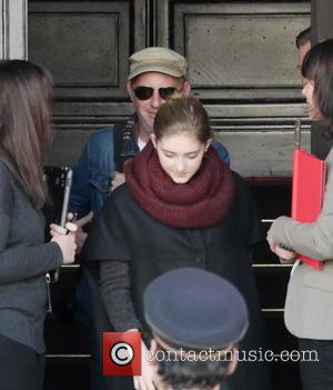 Willow shields - Willow Shield is seen leaving her Hotel and giving autographs to fans. The actress is visiting Berlin...