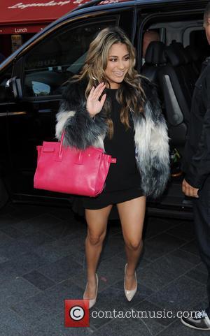 Fifth Harmony , Ally Hernandez - Fifth Harmony arrive at Capital Radio - London, United Kingdom - Monday 2nd November...