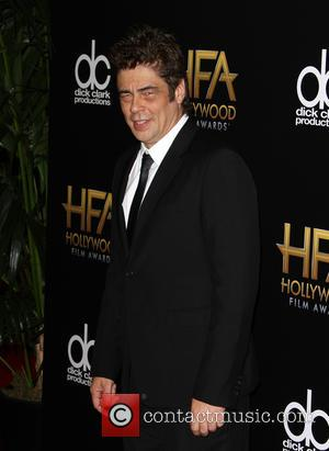 Benicio Del Toro - 19th Annual Hollywood Film Awards at The Beverly Hilton Hotel, Hollywood Film Awards - Beverly Hills,...