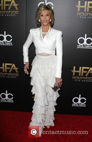 Jane Fonda - 19th Annual Hollywood Film Awards at The Beverly Hilton Hotel, Hollywood Film Awards - Beverly Hills, California,...