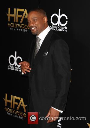Will Smith - 19th Annual Hollywood Film Awards at The Beverly Hilton Hotel, Hollywood Film Awards - Beverly Hills, California,...