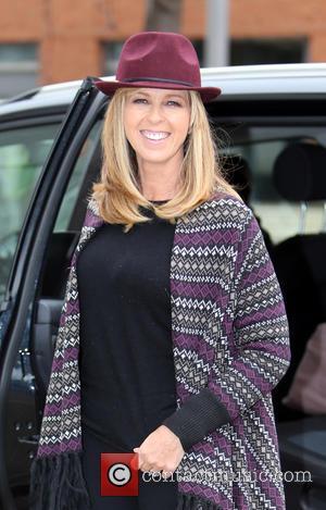 Kate Garraway - Kaste Garraway outside ITV Studios - London, United Kingdom - Monday 2nd November 2015