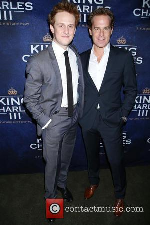 Richard Goulding and Adam James