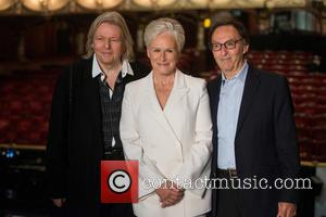 Glenn Close, Don Black , Christopher Hampton - Andrew Lloyd Webber's 'Sunset Boulevard' photocall held at the Coliseum Theatre. -...