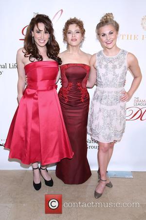 Lesli Margherita, Bernadette Peters and Eloise Kropp