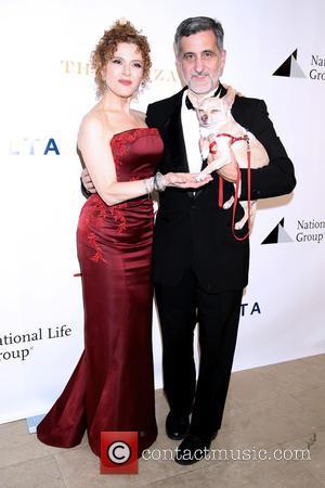 Bernadette Peters and Bill Berloni