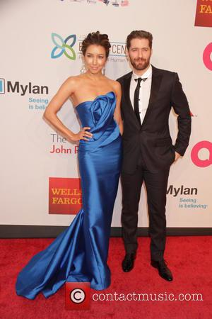 Matthew Morrison , Renee Puente - 14th Annual Elton John AIDS Foundation An Enduring Vision Benefit at Cipriani Wall Street...