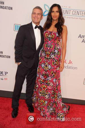 Andy Cohen and Padma Lakshmi