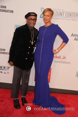 Spike Lee , Tonya Lee - 14th Annual Elton John AIDS Foundation An Enduring Vision Benefit at Cipriani Wall Street...