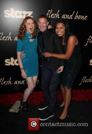 Lucy Walters, Joseph Sikora and Courtney Kemp Agboh