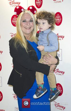 Vanessa Feltz - Disney Store Christmas Party, Oxford Street - Arrivals at Oxford Street, Disney - London, United Kingdom -...