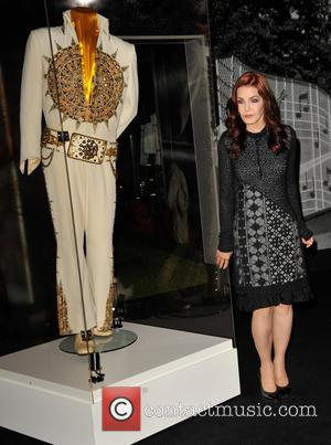 Priscilla Presley - Priscilla Presley with some of the new items on display at the Elvis at The O2: The...