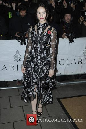 Lily James - Celebrities attend Harper's Bazaar Women of the Year Awards - London, United Kingdom - Tuesday 3rd November...