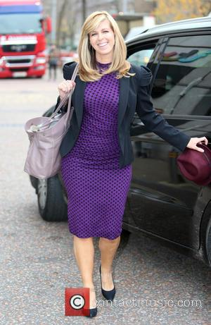 Kate Garraway - Kate Garraway outside ITV Studios - London, United Kingdom - Tuesday 3rd November 2015