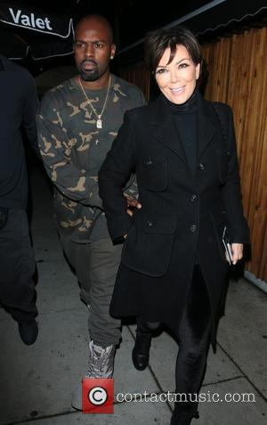 Cory Gamble and Kris Jenner