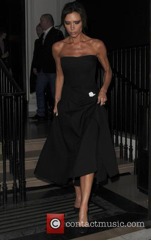 Victoria Beckham - Victoria Beckham seen leaving The Burberry Film Festival - London, United Kingdom - Tuesday 3rd November 2015