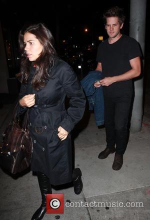 America Ferrera , Ryan Piers - America Ferrera and her husband Ryan Piers visit Craig's restaurant in West Hollywood -...