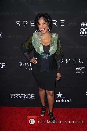 Angela Elayne Gibbs - 'Spectre' - The Black Women of Bond Tribute at California African American Museum - Arrivals -...