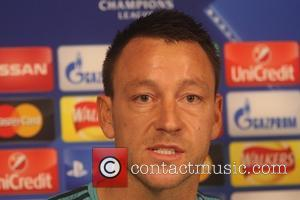 John Terry - Chelsea FC - Champions League - Press Conference ahead of their match against Dynamo Kiev - Cobham...