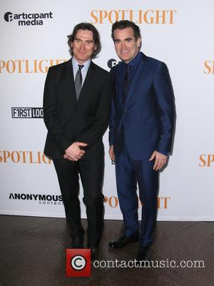 Billy Crudup , Brian d'Arcy James - Special Screening Of Open Road Films' 'Spotlight' - Arrivals - Beverly Hills, California,...