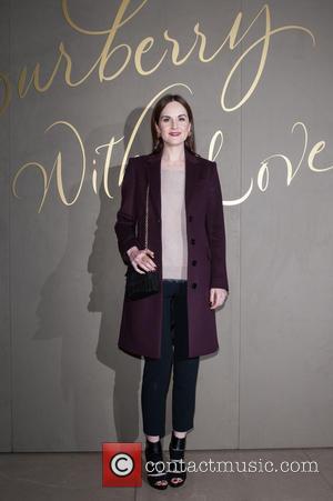 Michelle Dockery - The Burberry Film Festival - VIP premiere, held at Regent Street. - London, United Kingdom - Tuesday...