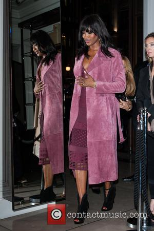 Naomi Campbell - The Burberry Film Festival - VIP premiere, held at Regent Street. - London, United Kingdom - Tuesday...