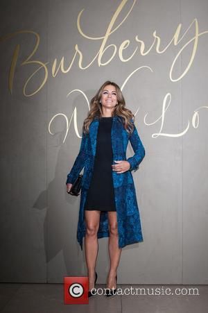 Elizabeth Hurley - The Burberry Film Festival - VIP premiere, held at Regent Street. - London, United Kingdom - Tuesday...