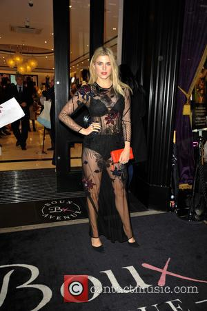 Ashley James - Celebrities arrive for the new Boux Avenue store launch party, at new Oxford Street shop at Oxford...