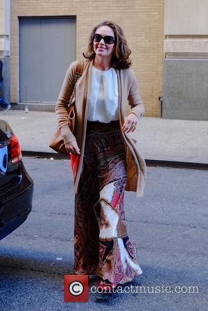 Diane Lane - Diane Lane at The Huffington Post - Manhattan, New York, United States - Wednesday 4th November 2015