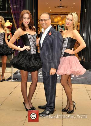 Theo  Paphitis, L'SheilaS Sisters , Polly Rae - Theo Paphitis opens new store 'Boux Avenue' on Oxford Street at...