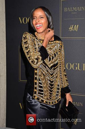 Sara Nuru - Launch of Balmain by H&M collection at St. Agnes Church - Berlin, Germany - Wednesday 4th November...