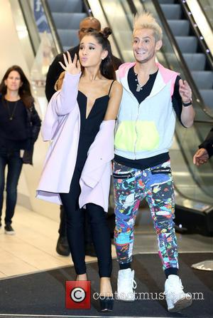 Ariana Grande , Frankie Grande - Ariana Grande launches her debut fragrance, Ari by Ariana Grande and does a meet...