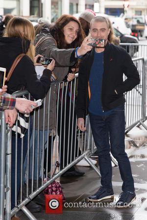 Daniel Radcliffe - Daniel Radcliffe arriving at the BBC Radio 1 studios at BBC Portland Place - London, United Kingdom...