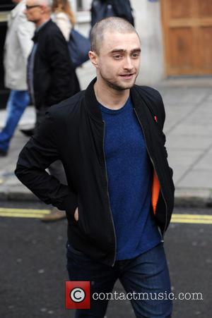 Daniel Radcliffe - Daniel Radcliffe leaves Kiss FM Studios - London, United Kingdom - Wednesday 4th November 2015