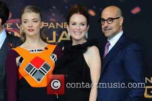 Natalie Dormer, Julianne Moore and Stanley Tucci
