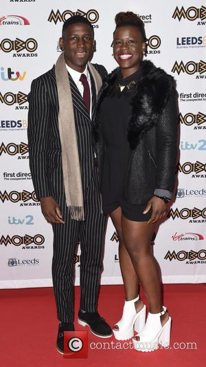 Labrinth , Sharrelle - Mobo Awards 2015 - Arrivals at Mobo Awards - Leeds, United Kingdom - Wednesday 4th November...
