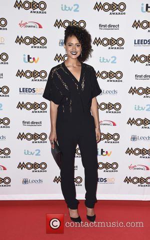 Nathalie Emmanuel - Mobo Awards 2015 - Arrivals at Mobo Awards - Leeds, United Kingdom - Wednesday 4th November 2015