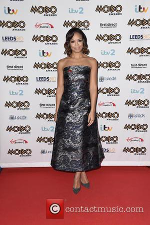 Sarah Jane Crawford - Mobo Awards 2015 - Arrivals at Mobo Awards - Leeds, United Kingdom - Wednesday 4th November...