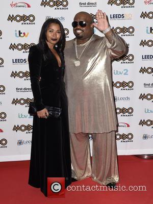 CeeLo Green , Shani James - Mobo Awards 2015 - Arrivals at Mobo Awards - Leeds, United Kingdom - Wednesday...