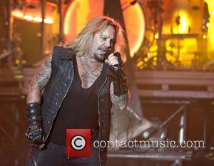 Vince Neil - Motley Crue performing live on stage at the Genting Arena in Birmingham at Genting Arena - Birmingham,...