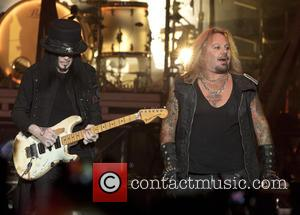 Vince Neil and Mick Mars