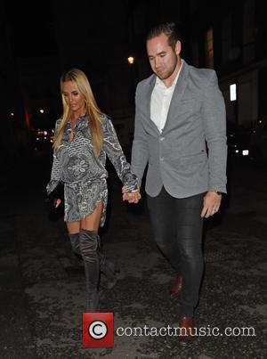 KATIE PRICE - Terrence Higgins Trust dinner - London, United Kingdom - Wednesday 4th November 2015