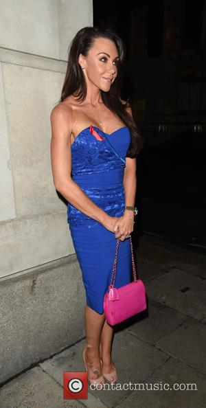 MICHELLE HEATON - Terrence Higgins Trust dinner - London, United Kingdom - Wednesday 4th November 2015