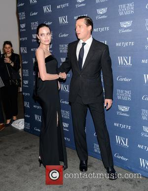 Brad Pitt , Angelina Jolie - WSJ. Magazine 2015 Innovator Awards at the Museum of Modern Art  - Arrivals...