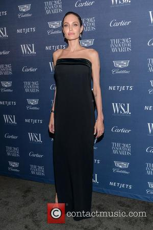 Angelina Jolie - WSJ. Magazine 2015 Innovator Awards at the Museum of Modern Art  - Arrivals - New York,...