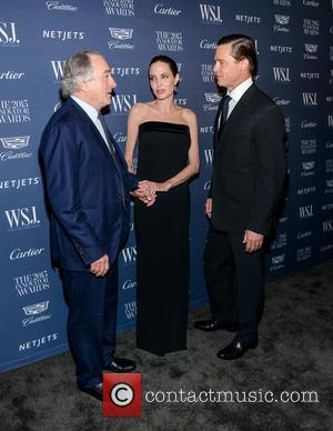 Robert De Niro, Angelina Jolie , Brad Pitt - WSJ. Magazine 2015 Innovator Awards at the Museum of Modern Art...