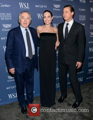 Robert De Niro, Angelina Jolie and Brad Pitt