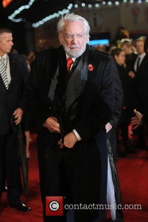 Donald Sutherland - The Hunger Games: Mockingjay - part 2 - UK film premiere held at the Odeon Leicester Square...