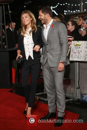Abbey Clancy and Paul Sculfor