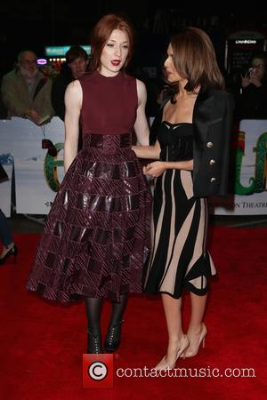 Nicola Roberts , Cheryl Fernandez-Versini - Guests arrivals at Elf the Musical Gala Night at DominionTheatre - London, United Kingdom...